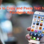 How to Copy and Paste Text on Facebook App on iPhone/iPad