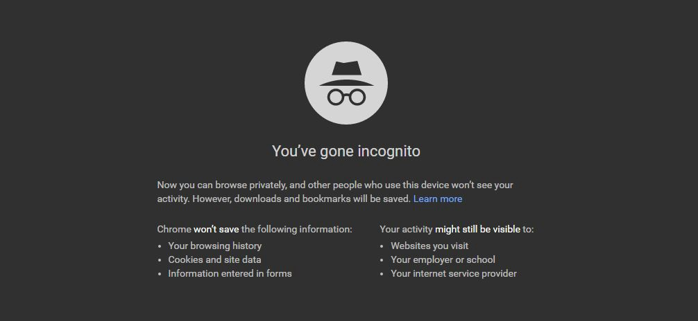 Google is Probably Tracking You Even in Incognito Mode