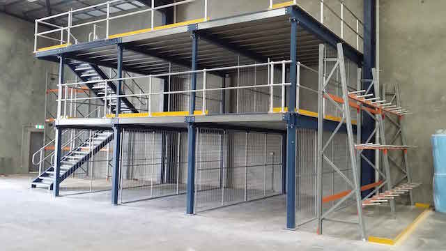 Right Mezzanine Floor for Warehousing